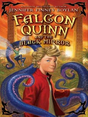 cover image of Falcon Quinn and the Black Mirror