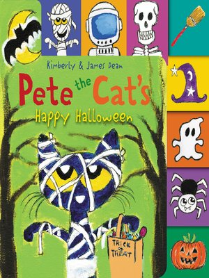 cover image of Pete the Cat's Happy Halloween