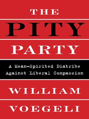 cover image of The Pity Party