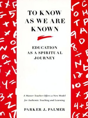 cover image of To Know as We Are Known