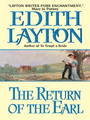 cover image of The Return of the Earl