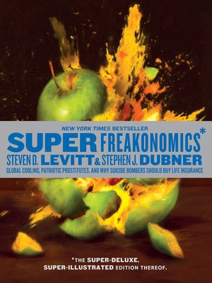 cover image of SuperFreakonomics, Illustrated edition