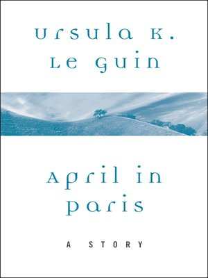 cover image of April in Paris
