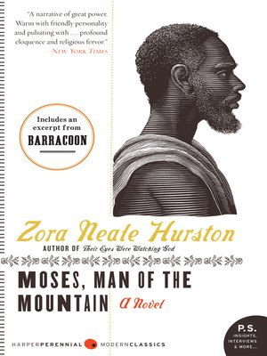 cover image of Moses, Man of the Mountain