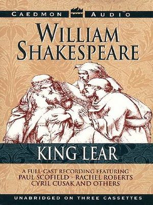 cover image of King Lear