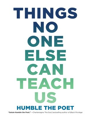 cover image of Things No One Else Can Teach Us