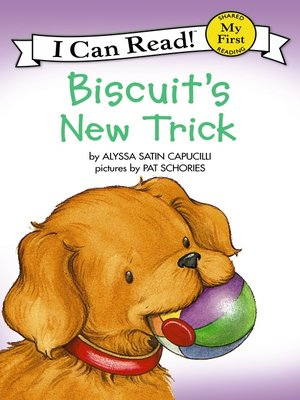 cover image of Biscuit's New Trick