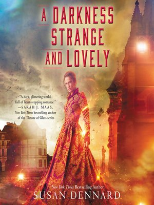 cover image of A Darkness Strange and Lovely