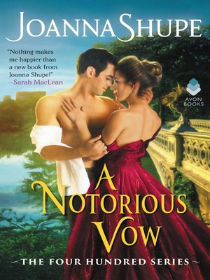 cover image of A Notorious Vow