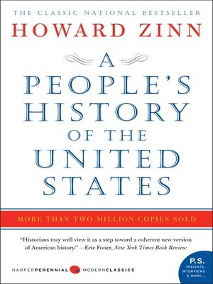 cover image of A People's History of the United States