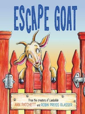 cover image of Escape Goat