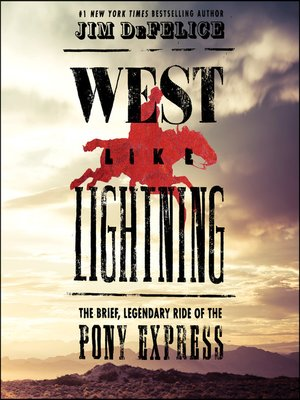 cover image of West Like Lightning