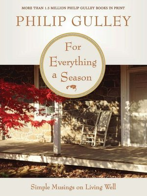 cover image of For Everything a Season