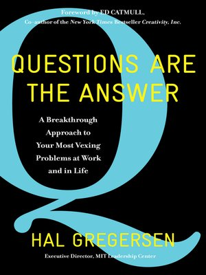 cover image of Questions Are the Answer