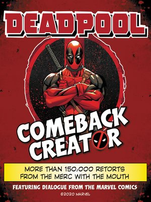 cover image of Deadpool Comeback Creator