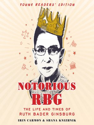 cover image of Notorious RBG Young Readers' Edition