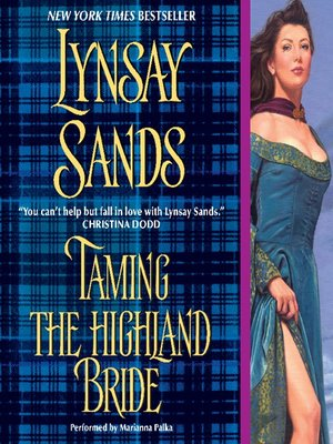 cover image of Taming the Highland Bride
