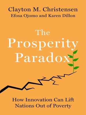 cover image of The Prosperity Paradox