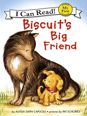 cover image of Biscuit's Big Friend