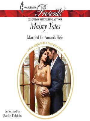 cover image of Married for Amari's Heir