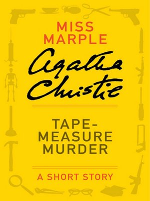 cover image of Tape Measure Murder