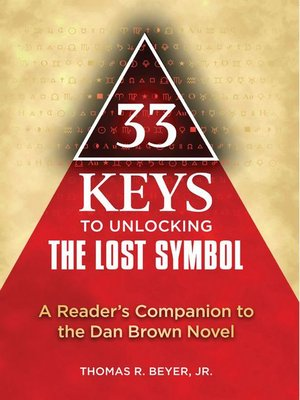 cover image of 33 Keys to Unlocking The Lost Symbol