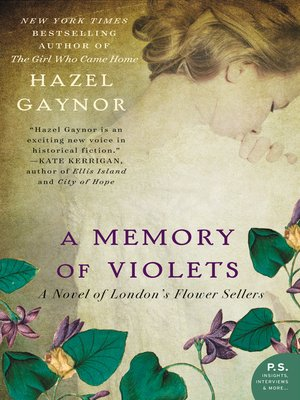 cover image of A Memory of Violets