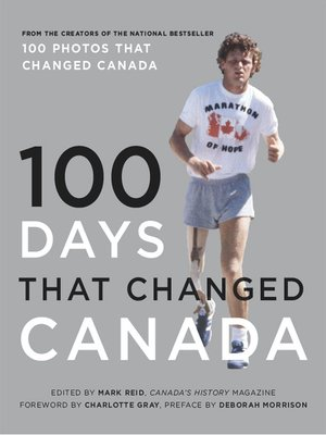 cover image of 100 Days That Changed Canada
