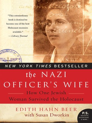 cover image of The Nazi Officer's Wife