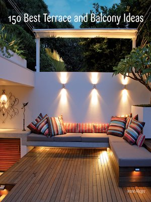 cover image of 150 Best Terrace and Balcony Ideas
