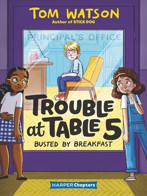 cover image of Trouble at Table 5 #2