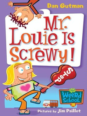cover image of Mr. Louie Is Screwy!