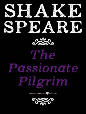 cover image of The Passionate Pilgrim