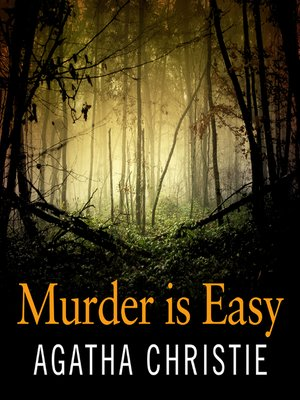 cover image of Murder Is Easy