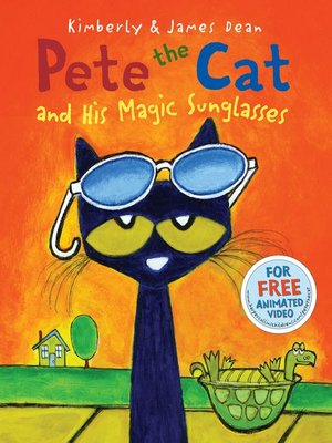 cover image of Pete the Cat and His Magic Sunglasses
