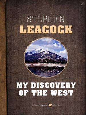 my financial career stephen leacock My financial career, a short story by stephen leacock.