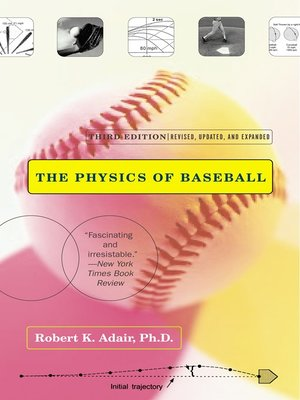 cover image of The Physics of Baseball