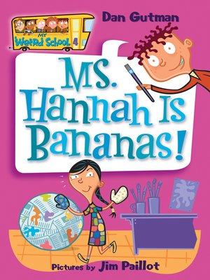 cover image of Ms. Hannah Is Bananas!
