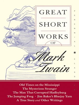cover image of Great Short Works of Mark Twain