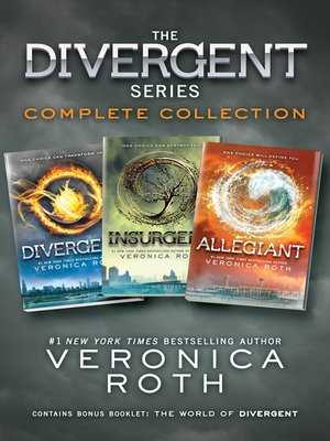 cover image of The Divergent Series Complete Collection