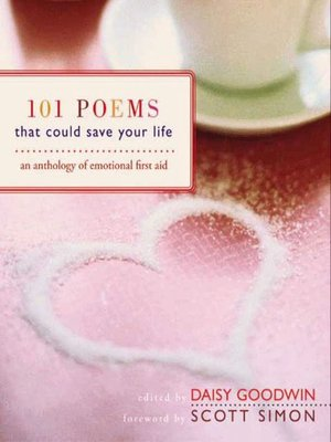 cover image of 101 Poems That Could Save Your Life
