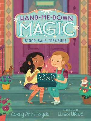cover image of Hand-Me-Down Magic #1