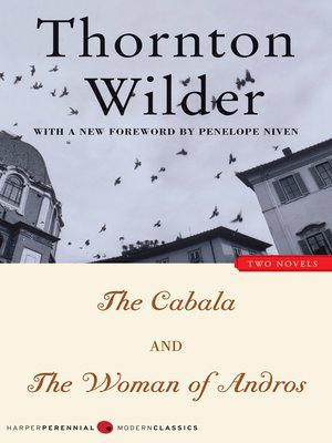 cover image of The Cabala and the Woman of Andros