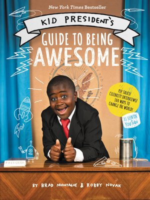 cover image of Kid President's Guide to Being Awesome