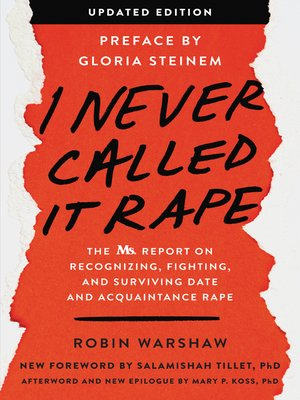 cover image of I Never Called It Rape--Updated Edition