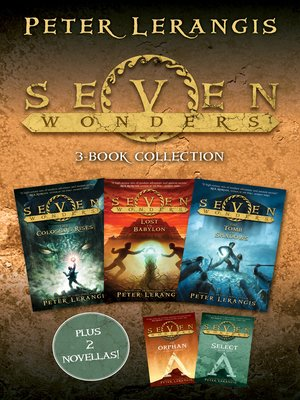 cover image of Seven Wonders 3-Book Collection