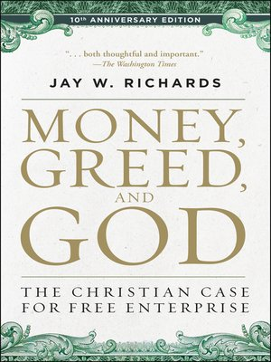 cover image of Money, Greed, and God 10th Anniversary Edition