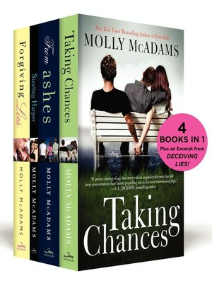 cover image of The Molly McAdams New Adult Boxed Set