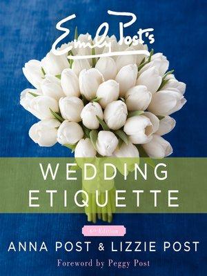 cover image of Emily Post's Wedding Etiquette, 6e
