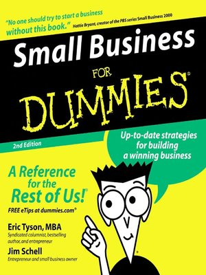 cover image of Small Business for Dummies®